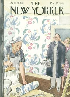 The New Yorker - Saturday, September 23, 1939 - Issue # 762 - Vol. 15 - N° 32 - Cover by : Perry Barlow