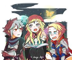 Kanna, Ophelia, and Percy
