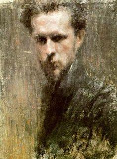 Mstislav Dobuzhinsky - Sel-Portrait