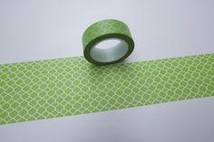 Tape TAPETE grün hellgrün leuchtgrün  von washitapes auf DaWanda.com