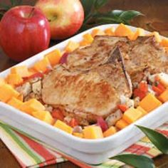 Winter Pork Chop Bake Recipe