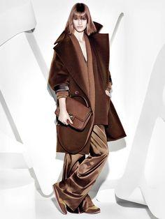 "fashionising: ""Ashleigh Good for Max Mara's Fall 2013 Campaign """