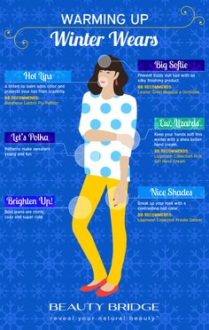 Learn how to dress to impress while staying warm this winter! #infographic