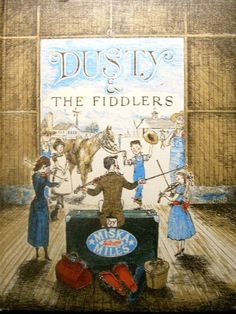 Dusty and the Fiddlers by Miska Miles illust.by Erik Blevad http://www.amazon.com/dp/0316568244/ref=cm_sw_r_pi_dp_YiTbwb1MH5S2S