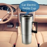 Wish | High Quality 12 V Car Heating Cup Stainless Steel Liner Car Mug with The Electric Kettle Heating Cup