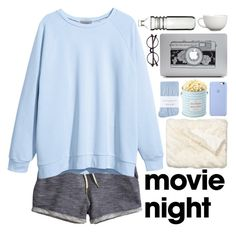 """""""me"""" by fedeandrer ❤ liked on Polyvore featuring H&M, Johnstons, Nordstrom, The Hampton Popcorn Company, Arabia and Dot & Bo"""