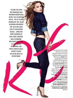 Elle magazine Pictorial 2014 November