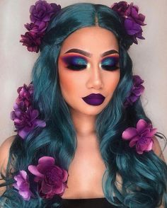 Image shared by gabidino. Find images and videos about beauty, makeup and make up on We Heart It - the app to get lost in what you love. Makeup Eye Looks, Creative Makeup Looks, Eyeshadow Looks, Eyeshadow Makeup, Eyeliner, Eyeshadow Palette, Eyeshadow Ideas, Simple Makeup, Eyeshadow Designs