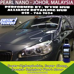 Hydrophobic- Super Glossy Nano Coating Performed by Wyne Hub Alliance Detailing Hub had involved in Malaysia car detailing & car coating services. Our main product line are now the world wide well known Pearl Nano Coating series products and Hilustre Car Care series products. Call 010–766 3634 Now! For Interested Distributors and Dealers of Pearl Nano please contact Dave: Dave@PearlUSA.net or Call: 808 779–7163. Visit www.pearlnano.com #wynehub #alliancedetailinghub #pearlmalaysia