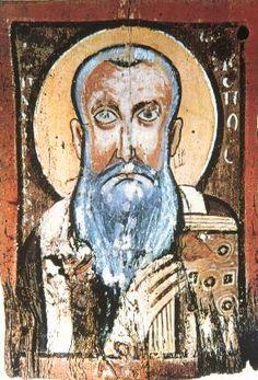 Ancient Coptic Icon