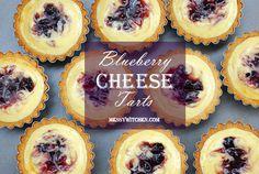 10 Delicious Ways To Make Tart Cakes - Blueberry Cheese Tarts Tart Recipes, Sweet Recipes, Dessert Recipes, Cooking Recipes, Blueberry Cheese Tart Recipe, Mini Blueberry Tarts, Mini Desserts, Just Desserts, Tart Taste