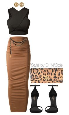 """Untitled #1979"" by stylebydnicole ❤ liked on Polyvore"