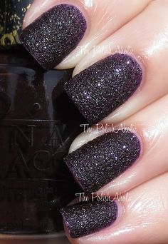The PolishAholic: OPI Bond Girls Collection Swatches-Vesper Bond Girls, Opi Nail Polish, Opi Nails, Cute Nails, Pretty Nails, Gorgeous Nails, Opi Nail Colors, Sparkle Nails, Nail Envy