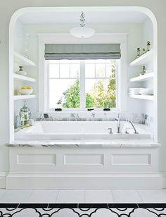 To da loos: 8 elegant bathtub alcoves