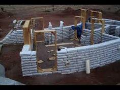 Resultado de imagen de earthbag building