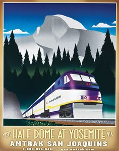 Another beautifully poster created by illustrator Michael Schwab.