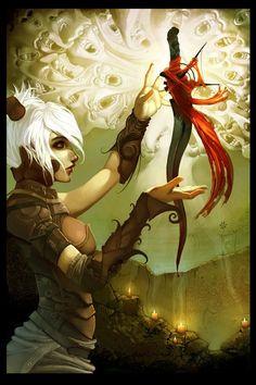Stunning Fantasy art by digital artist Marc Brunet - 12 Fantasy Inspiration, Character Inspiration, Character Art, Character Design, Character Ideas, Character Concept, Design Inspiration, World Of Fantasy, Fantasy Women