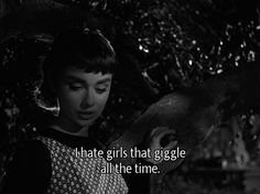 I love this quote from Sabrina