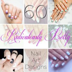 60 Ridiculously Pretty Nail Art Designs You'll Want To Copy Immediately