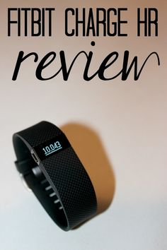 Fitbit Charge HR Review--a complete list of pros and cons if you've ever considered getting a Fitbit.