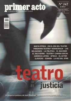 Primer número de la nueva época de la mejor revista de teatro española del siglo XX... y del XXI. Menos mal que se ha salvado!