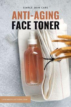 Homemade Face Toner, Homemade Skin Care, Diy Skin Care, Skin Care Tips, Homemade Beauty, Diy Beauty, Beauty Tips, Homemade Facials, Clean Beauty