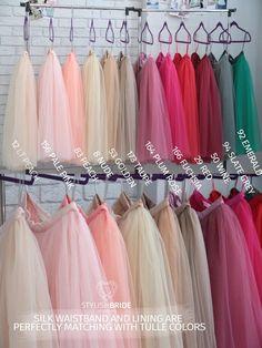 Tulle Skirt 150 Colors Women s Casual Fay Tulle Skirt  c7d35526052b