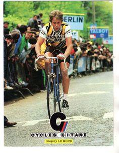 CARTE POSTALE CYCLES GITANE GREGORY LE MOND