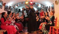 Granada Flamenco Show in Sacromonte and Walking Tour of Albaicin Inside an authentic flamenco joint – Cuevas Los Tarantos – sit back and relax with a drink, or perhaps upgrade to include a 3-course dinner, while watching a regional type of flamenco known as... #Event #Music #Social  #Tour #Backpackers #Tickets #Entertainment