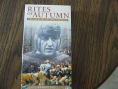 The Story Of College Football.Rites Of Autumn