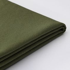IKEA - VALLENTUNA, Cover for sleeper module, Orrsta olive-green, ORRSTA cover is woven from cotton and polyester with a light structure that makes it soft and comfortable. The yarn-dyed fabric has a tone-on-tone effect and a clean and calm look. Media Furniture, Living Furniture, Sofa Furniture, Modular Corner Sofa, Modular Sofa, Living Room Storage, Rugs In Living Room, Vert Olive, Olive Green
