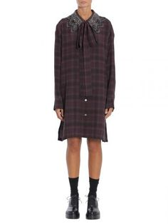 MARC JACOBS Abito Camicia Stampa Tartan. #marcjacobs #cloth #dresses