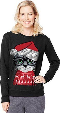 348d1b4583 Hanes Women s Ugly Christmas Sweatshirt