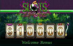 Everyday a number of #onlinecasinos come up with a series of codes to welcome new players. Get Slots Jungle Welcome #bonuscodes at   http://www.bonusbrother.com/