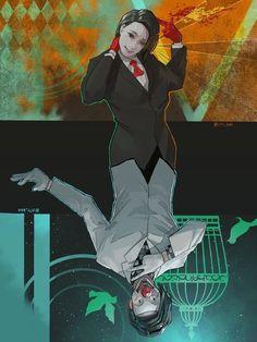 Furuta Nimura ~ Kichimura Washuu ▲ 和修旧多 宗 Kaneki, Studio Ghibli, Tokyo Ghoul Furuta, Anime Love, Me Me Me Anime, Nimura Furuta, Manga Anime, Anime Art, Jojo Bizzare Adventure