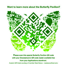 Butterfly Pavillion :: QR code by Neal Sceva Barcode Art, Butterfly Pavilion, Cool Symbols, Qr Codes, Print Packaging, Infographic, Graphic Design, Learning, Creative
