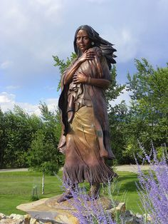 Sacagawea, also Sakakawea or Sacajawea, was a Lemhi Shoshone woman, who accompanied the Lewis and Clark Expedition, acting as an interpreter and guide, in their exploration of the Western United States.