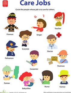 Community helpers occupations and community places изучать а Community Helpers Worksheets, Community Helpers Preschool, Preschool Jobs, Kindergarten Worksheets, Communities Unit, People Who Help Us, Care Jobs, Summer Reading Program, School Themes