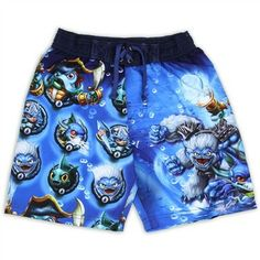 Skylanders Boys Swim Shirt Size 6 NWT