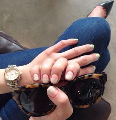 Spring nails @onnu_nail #nude #pink