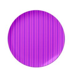 #Purple and Pink Stripey Hippie Pattern #Party #Plates $28.10