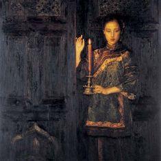 yifei artist   Yifei Chen Biography, Works of Art, Auction Results   Artfact