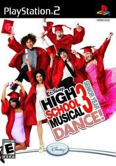 High School Musical 3 Senior Year Dance PlayStation >Brand New - In Stock Playstation 2, Xbox 360, Ps4, Super Nintendo, Nintendo Wii, Grand Theft Auto, Fun Moves, High School Musical 3, Disney High Schools