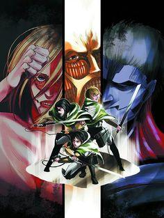 grafika armin, shingeki no kyojin, and anime