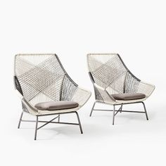 Made of all-weather cord handwoven around a lightweight aluminum frame, our Huron Chair brings the right combination of comfort and elegance to porches and decks. Its rust-resistant construction lets it live outside, rain or shine.