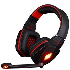 EACH G4000 Pro Gaming Headset Headphones with Microphone LED Light Stereo Surround Headband Fone De Ouvido for Computer PC Gamer