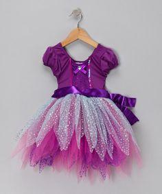 $9.99 -  Girl's Purple Fantasy Dance Dress.  Save 70%