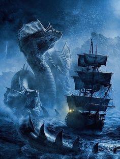 Disturbing the sea serpents