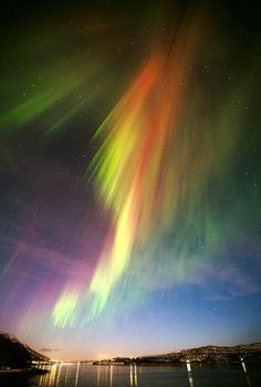 landscape featured northern lights nature travel europe norway scandinavia thanks aurora borealis Beautiful Sky, Beautiful World, Beautiful Pictures, Aurora Borealis, Ciel Art, Northen Lights, All Nature, Sky Art, To Infinity And Beyond
