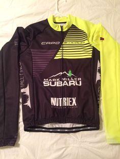 Capo Corsa Long Sleeve Cycling Jersey Cicada Racing Medium- New with tags!